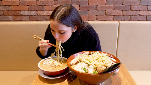This Food Challenge Involves 16 Pounds of Ramen