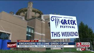 Greek festival hopes to welcome eclipse-goers - Video