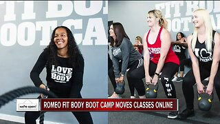 We're Open: Romeo Fit Body Boot Camp moves classes online