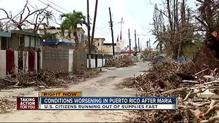 Conditions worsening in Puerto Rico after Maria - Video