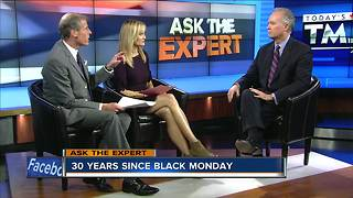 Ask the Expert: The stock market 30 years after Black Monday - Video