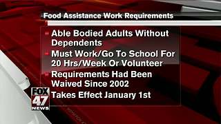 Requirements for people receiving food stamps reinstated by MDHHS - Video