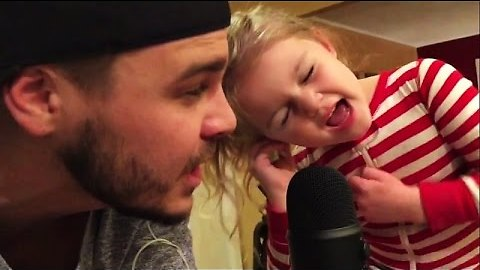 5-Year-Old Girl Sings Beautifully In Duet With Dad