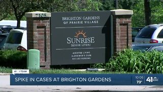 Brighton Gardens COVID-19 cases, deaths spike again