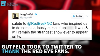 Fox News Program, Red Eye, Has Been Cancelled - Video
