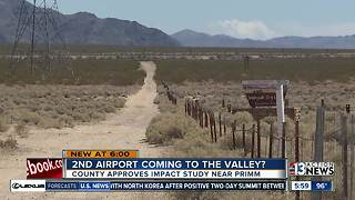 Second airport coming to the valley?