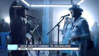 Jack White coming to Milwaukee - Video