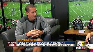 Luke Fickell talks family, faith and becoming a Bearcat