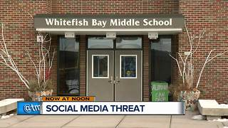 Parents taking precautions after alleged Snapchat threat at Whitefish Bay Middle School - Video
