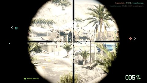Battlefield 3 I play sniper at the right strategic place