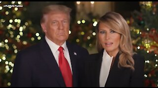 President Trump and Melania 2020 Christmas Video