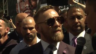 Conor McGregor: 'Vegas is Ireland, we run Las Vegas.' | Mayweather vs McGregor - Video