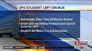 OPS student left on bus - Video