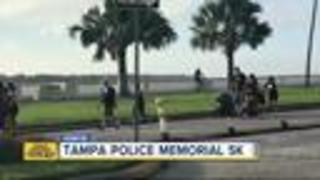 23rd Annual TPD Memorial 5K/1-Mile Run/Walk underway - Video