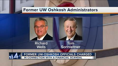 Two UW-Oshkosh officials accused of illegal finance deals