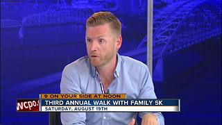 Third annual Walk With Family 5K - Video