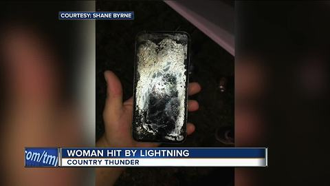 Woman struck by lightning at Country Thunder Music Festival identified by deputies