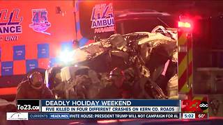 Deadly Thanksgiving weekend on our roads - Video