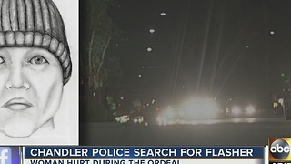 Chandler police looking for man accused of flashing woman - Video