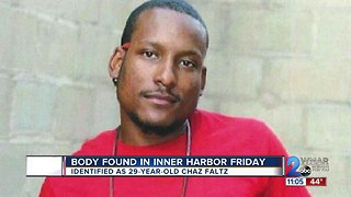 Police, family say body found in Harbor Friday was Chaz Faltz