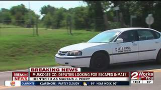 Escaped inmate in Muskogee County