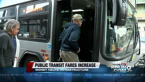 Some public transit fares increasing in January