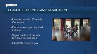 New mask mandate in Charlotte County