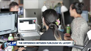"""Explaining the difference between """"furlough"""" and """"layoff"""""""