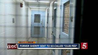 Convicted Sheriff Serving Time In So-Called