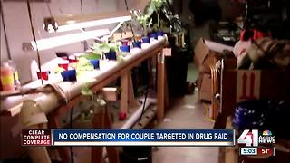 No compensation for couple targeted in drug raid - Video