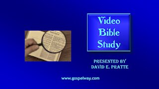Video Bible Study: Book of Amos - 1