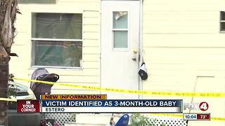Baby identified as victim of Estero death investigation - Video