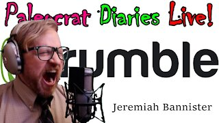 Paleocrat Diaries Live! with Jeremiah Bannister | Mon, Jan. 11, 2021