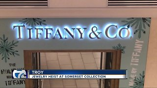 Troy police investigating jewelry heist at Tiffany & Co.