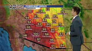 FORECAST: Temperatures in Valley higher than usual - Video