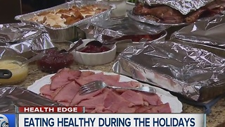 Eating healthy over the holidays - Video