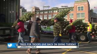 Trees for Troops on Giving Tuesday - Video
