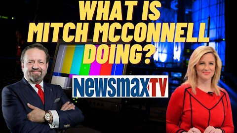 What is Mitch McConnell doing? Sebastian Gorka with Lyndsay Keith during Spicer & Co. on Newsmax