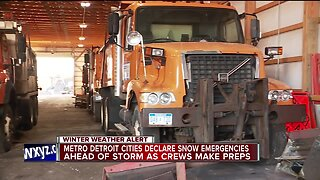 Oakland County Road Commission prepping for weekend winter storm