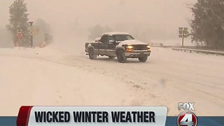 Winter weather wreaks havoc across country - Video