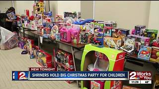 Every child who spent time in Shriners hospital received Christmas gift - Video