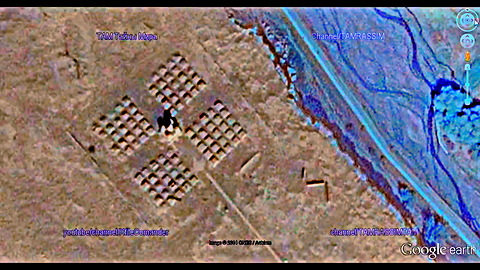 Hidden megalithic structures, connections with aliens and geoglyphs in China.