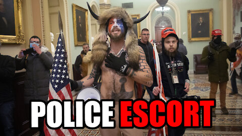 Police Escort INCERECTIONISTS to Senate Floor