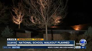 National Student Walk Out planned today
