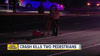 Two pedestrians killed, one killed in crash on Providence Road in Brandon - Video