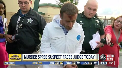 Murder suspect says murders were 'for God'