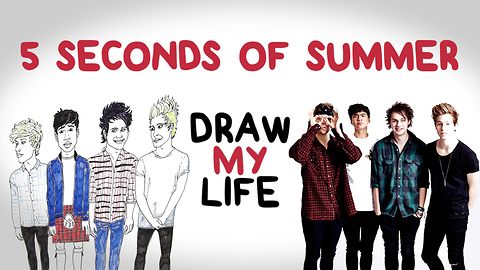 5 Seconds of Summer | Draw My Life