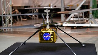 NASA's 'Mars Helicopter' Ready For The Red Planet