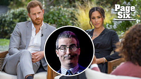 John Oliver's 2018 warning to Meghan Markle resurfaces after Oprah interview