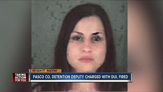 Pasco Co. detention deputy charged with DUI